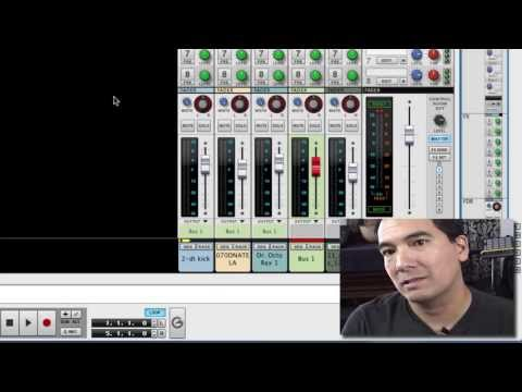 Parallel Effect Channels in Reason's Main Mixer
