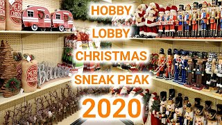 HOBBY LOBBY CHRISTMAS DECOR 2020 |  SHOP WITH ME | SNEAK PEAK | CHRISTMAS IN JULY | BECKY BUFORD