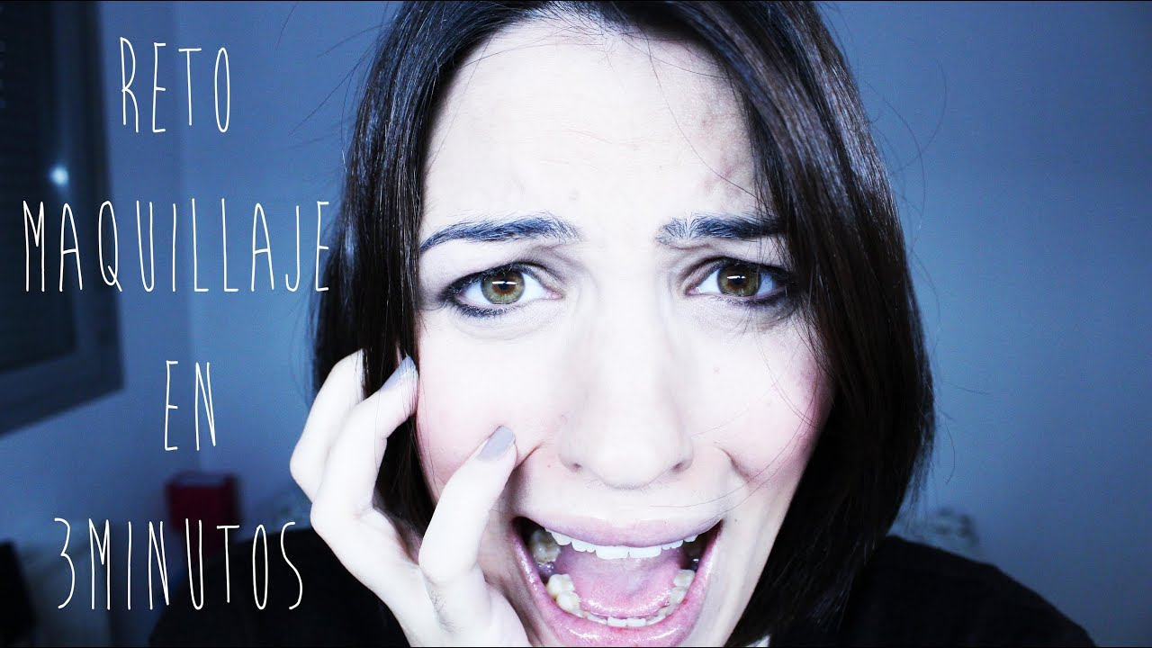 NonaMakeUp: TAG Reto: Maquillaje en 3 minutos / 3 minutes makeup challenge