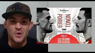Dustin Poirier talks Garry Tonon match, gives Khabib vs Tony Prediction