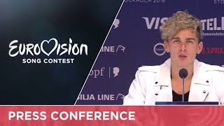 Donny Montell (Lithuania) Press Conference