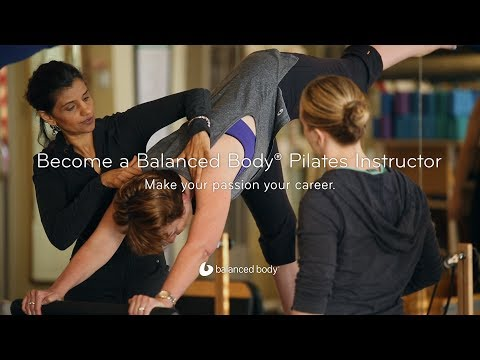 Balanced Body® Pilates Instructor Training - YouTube
