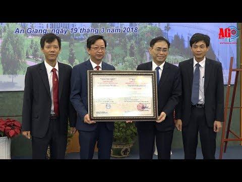 Đại học An Giang được công nhận đạt tiêu chuẩn chất lượng giáo dục