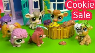 LPS Cookie Sale - Kream's Ice Creamery Littlest Pet Shop Part 15 Video Playing Series Cookieswirlc
