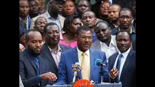 BREAKING NEWS: NASA MPs announce new tactic ahead of debate on amendment of Election Laws