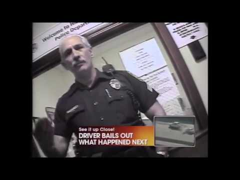 Police intimidation caught on undercover camera