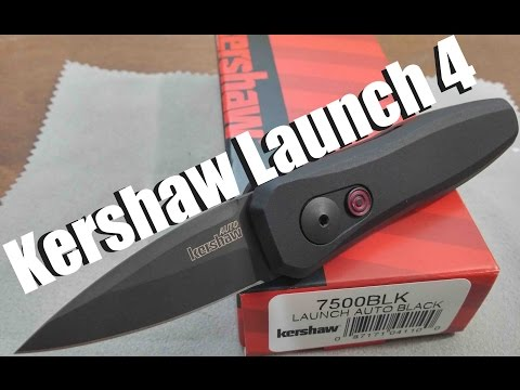 Kershaw Launch 4 – First impressions of this CA legal auto knife!