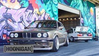 [HOONIGAN] DT 054: BMW E30 Custom Steering Wheel Install (Hert Burnout)