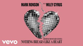Mark Ronson Ft Miley Cyrus - Nothing Breaks Like A Heart (Dimitri From Paris Remix) video
