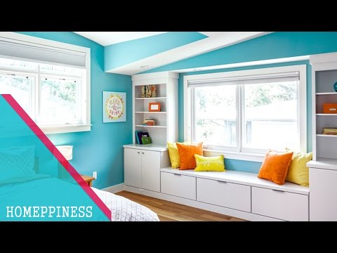 AMAZING COLOR COMBINATION | 20+ Blue Bedroom Interior Ideas for Teenagers and Couple