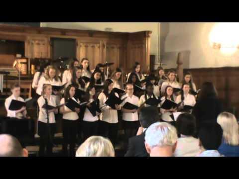 Bolton School Girls' Senior Choir Sing Fields of Gold