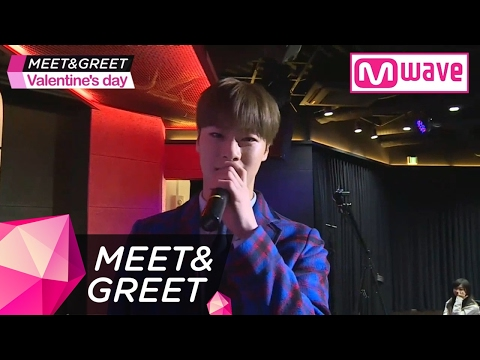 [MEET&GREET: Valentine's Day Special 4] ASTRO's MOON BIN Confesses His Love with a Rose