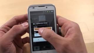 Alcatel onetouch 995 - Internet - Teil 3