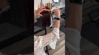 45 degree haircut lob
