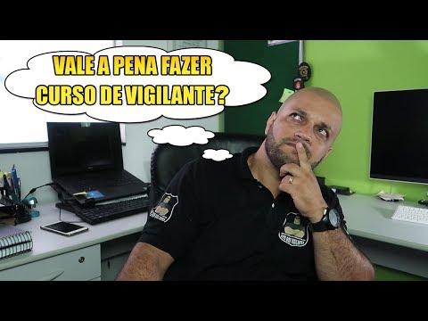 VALE A PENA FAZER CURSO DE VIGILANTE - VÍDEO RESPOSTA