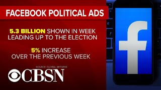 Facebook's political ad ban didn't reduce ads' reach in week before election