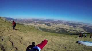 preview picture of video 'Paragliding in Arcones 2013'