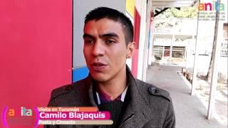 Camilo Blajaquis visitó Tucumán y reflexionó sobre pobreza, cultura e inclusión