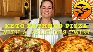 DIY KETO FAT HEAD PIZZA RECIPE | 2 DELICIOUS TWISTS | IMPROVEMENTS FATHEAD