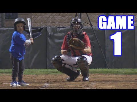 OUR FIRST BASEBALL GAME! | On-Season Baseball Series | Game 1
