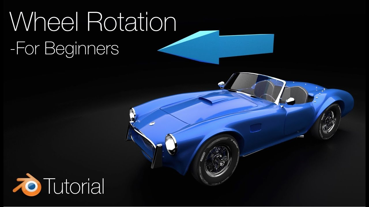 [2.8] Blender Tutorial: Wheel Rigging for Car Animations