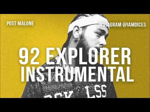 "Post Malone ""92 Explorer"" Instrumental Prod. by Dices *FREE DL*"