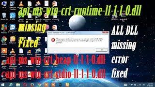 api-ms-win-crt-heap-11-1-0.dll is missing
