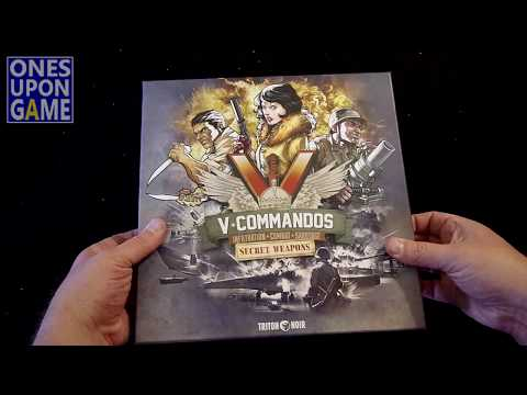 V-Commandos Secret Weapons Unboxing by Ones Upon a Game