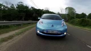 Essai Nissan Leaf 30 kWh en Corse