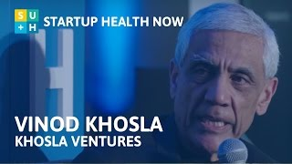 Investing in Healthcare Moonshots - Vinod Khosla, Khosla Ventures: NOW #68