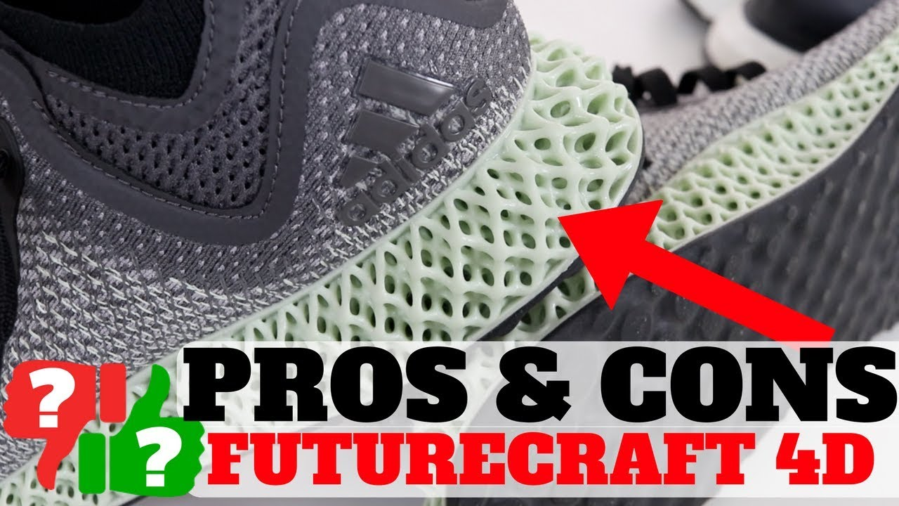 1 Month AFTER Wearing adidas FUTURECRAFT 4D! PROS & CONS