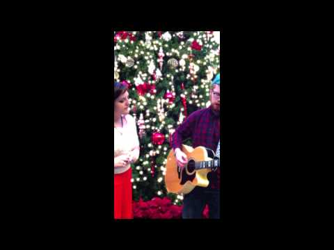 """I'll Be Home for Christmas"" - cover by Nova-Leigh and Hosts"