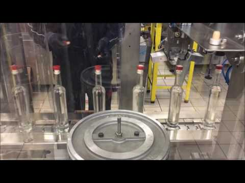 IC Filling Systems - Spirits bottling on the Flexibloc