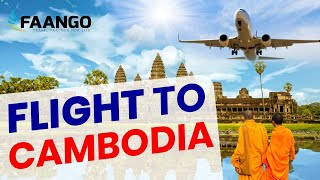 Cheap Flights to Cambodia | Book Now & Get Amazing Deals on Call +1-800-295