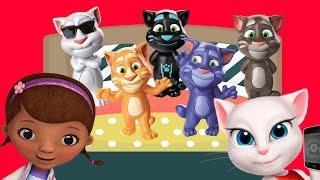 Говорящий том и друзья Игрушки прыгают под детскую песенку Детские песенки Мульт для детей