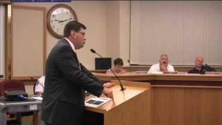 Washington, MO City Council Comments on Anti-Meth Ordinance
