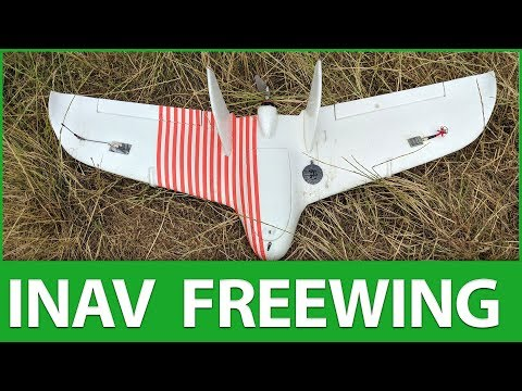 Freewing, F7 & iNav 2.0.0 RC2 Maiden (ish) - One Peachy FPV Wing