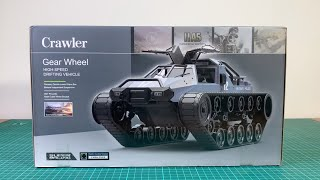 RC 1/12 Crawler Gear Wheel Unboxing & Fpv test run