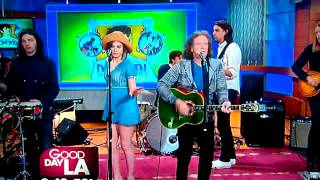DONOVAN LEITCH LIVE, Cut off MID SONG a 2nd time on FOX Los Angeles TV 3 30 2102