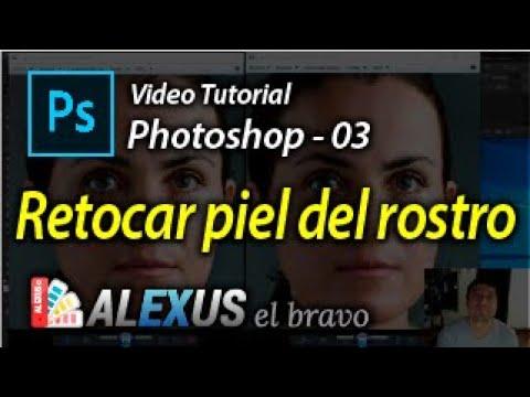 ALEXUS El Bravo / Photoshop 03 / Retoque piel del rostro
