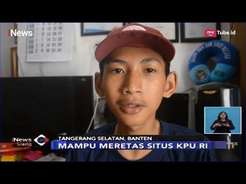 KEREN! Hobi Main Game, Bocah SMP di Tangsel Peretas Situs NASA dan KPU RI - iNews Siang 04/04