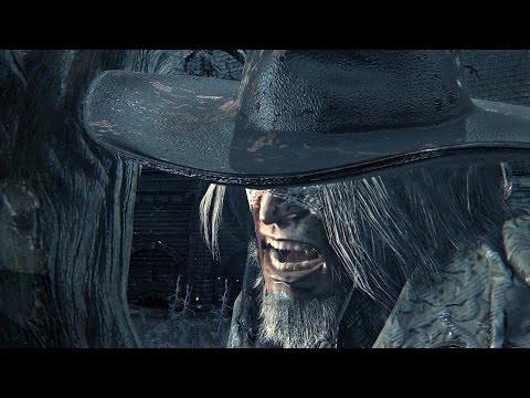 Bloodborne: Father Gascoigne Boss Fight (1080p)
