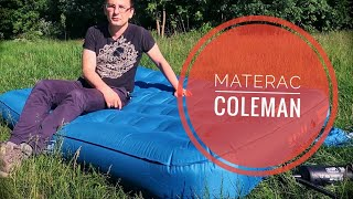 Mój nowy materac: Coleman Extra Durable Airbed Double