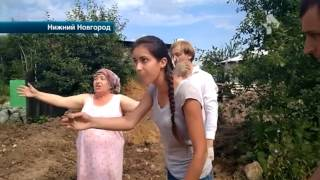 В Нижнем Новгороде из-за земельного спора соседи готовы убить друг друга
