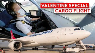 Special Valentine Delivery on Turkish Cargo A330F