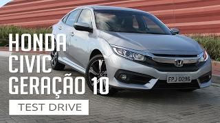Honda Civic Geração 10 - Test Drive