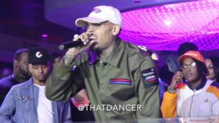 "Chris Brown ""Wrist"" Live in Miami"