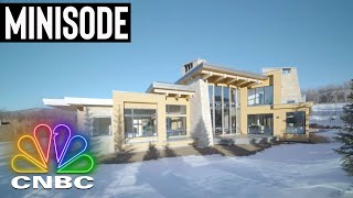 THE $21.9M ASPEN 'GREEN HOME' | Secret Lives Of The Super Rich