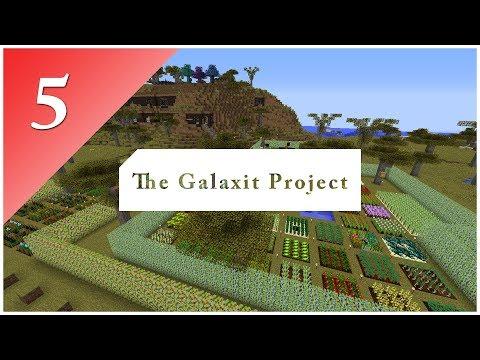 The Galaxit Project - E05 | Nerozbitné nástroje a Tiny Mob Farm  |