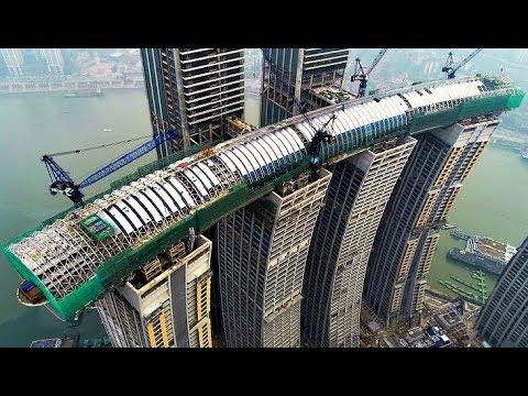 Китай, что ты делаешь! Первый в мире горизонтальный небоскреб